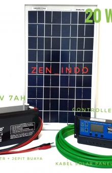 solar cell satu set 20w
